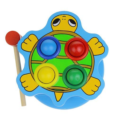 Whack A Mole Jeu de Balle Rapide Réflexes L'Apprentissage Des Langues Durable Tortue Edu Toy Multicolore PT359