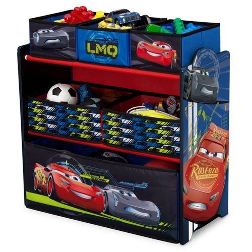 Armoire de rangement pour jouets en bois Legends TB83349CR de Disney Cars