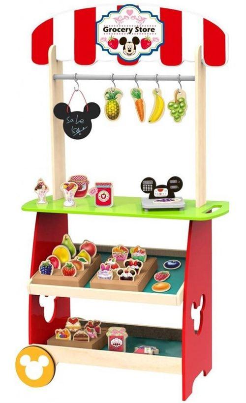 Disney supermarché Mickey Mouse filles 100 cm bois rouge