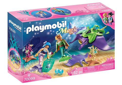 Playmobil Magic 70099 Chercheurs de perles et raies