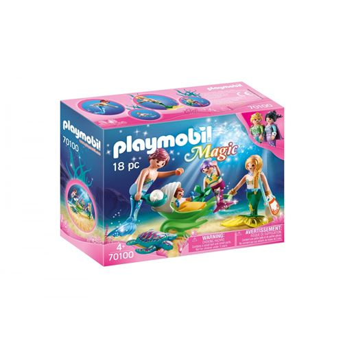 Playmobil Magic 70100 Famille de sirènes