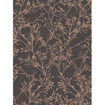 Tranquillite Arbre Papier Peint Cuivre Et Noir Decors Et Stickers