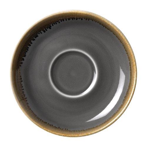 Soucoupe grise - 160 mm