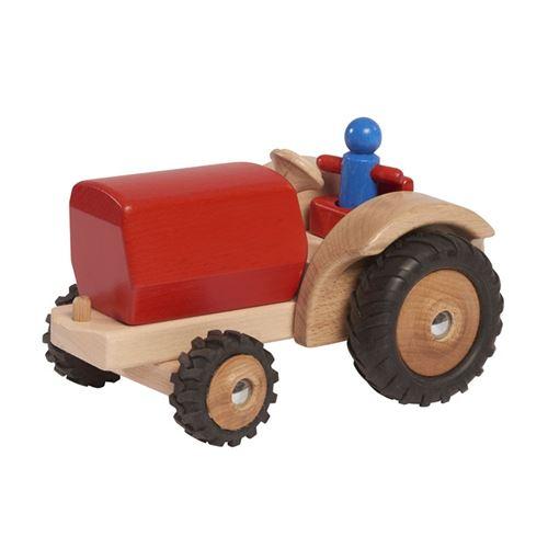 Walter tracteur 23,5 cm bois rouge