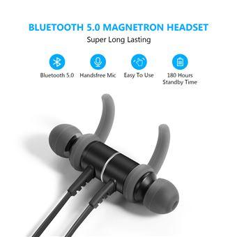 SAVFY Écouteur Bluetooth 5.0 Magnétique Sans-
