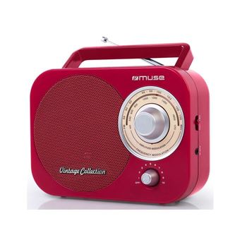 Radio portable Muse M-055 RD Rouge