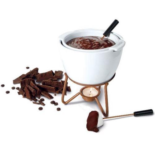 service à fondue chocolat au bain-marie - 0320400