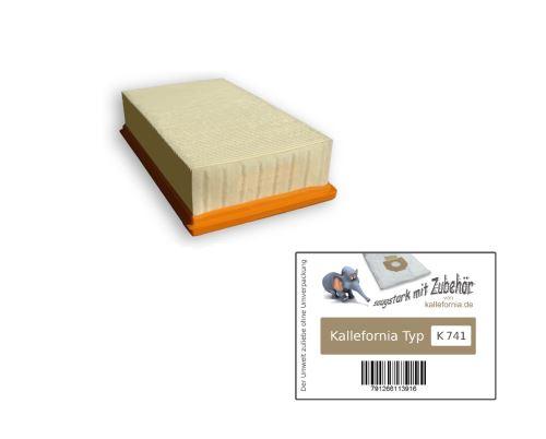 Kallefornia K741 1 filtre pour aspirateur Kärcher Profesional NT 65/1 Tact