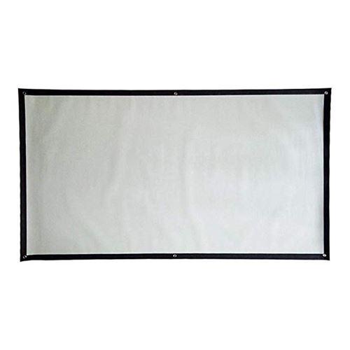 Écran de projection 60 pouces 4: 3 anti-froissage pliable portable HJL037