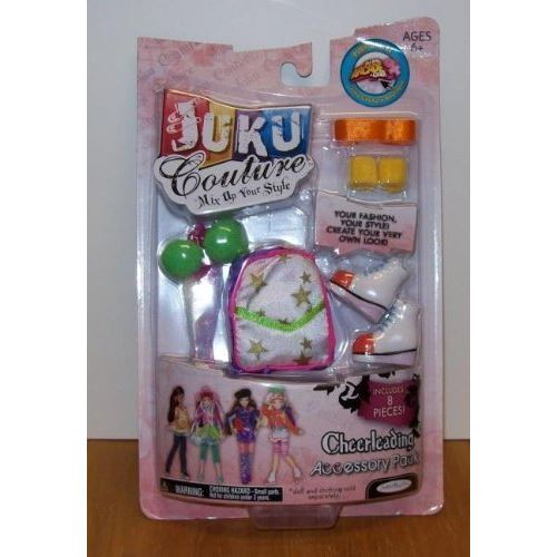 Juku Couture Cheerleading Accessory Pack by Jakks Pacific