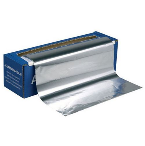 Distributeur + rouleau d'aluminium 2m professionnel - ALUX160 - PUBLI EMBAL