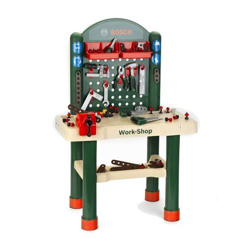 Klein établi avec outils vert foncé 42 pièces