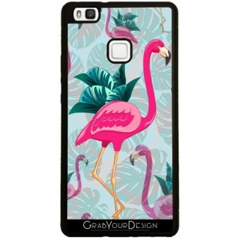 coque huawei p9 lite flamant rose