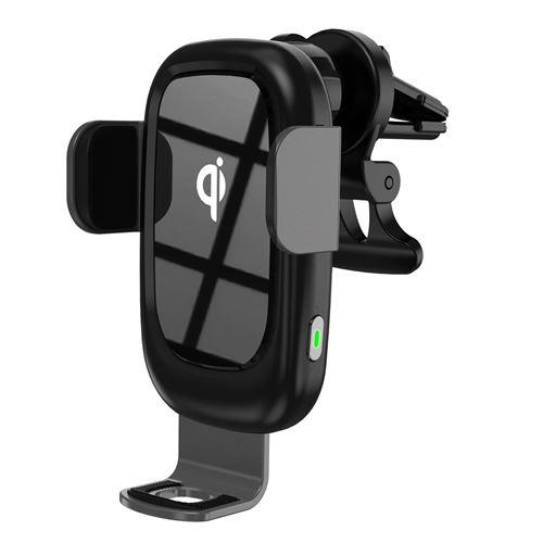 Chargeur sans Fil Voiture Support Téléphone Induction 15W Compatible avec Samsung S20/S10Plus/S9, 7,5W pour iPhone 12/12 Mini/11/XR,