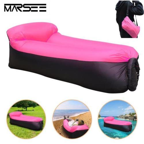 Gonflable Sofa , Excerando Canapé Gonflable Sac à Couchage Matelas Portable Lit en Plein Air pour Camping Plage Extérieur