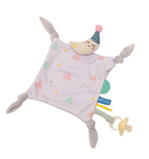 Taf Toys couverture câline Mini Moon30 x 39 cm beige