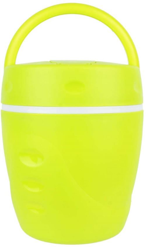 Take Away - Lunch box chaud froid avec cuillère 1 litre Vert