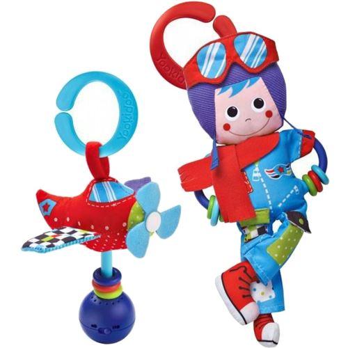 Yookidoo set de jeu Pilot avec hochet 2 pièces