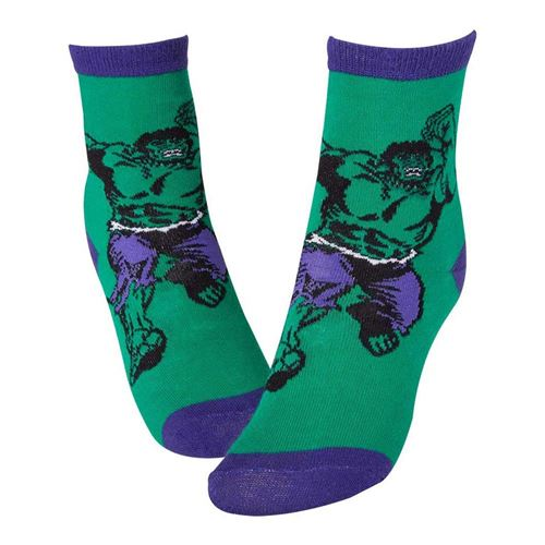 Marvel Official Hulk Smash Socks