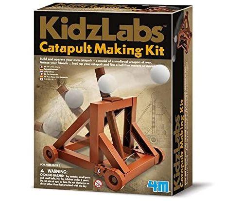 4M - 68569 - Jeu de Construction - Kidz Labs - Kit de Lance-Pierre