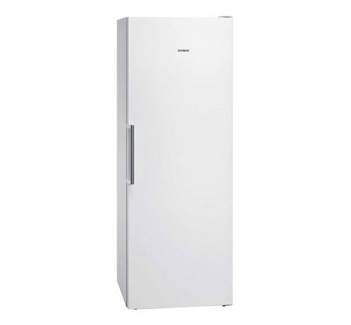 Siemens iQ500 GS58NAWEV - Congélateur - congélateur-armoire - pose libre - largeur : 70 cm - profondeur : 78 cm - hauteur : 191 cm - 365 litres - Classe A++ - blanc