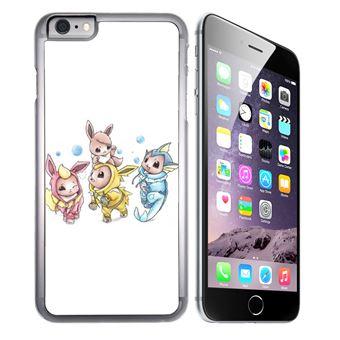 Coque pour iPhone 8 PLUS pokémon bébé evoli évolution