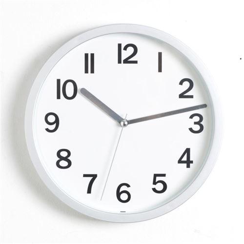 Horloge Murale Colors 22cm Gris