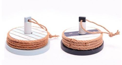 Bord de mer Coasters Dans Titulaire - Marine