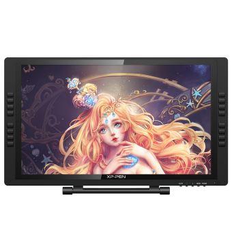 Tekentablet met Scherm - XP-PEN Artist22E Pro - Werkgebied 21,5 inch - 16 Sneltoetsen - IPS Bewaken - 8192 Drukgevoeligheid - Oplaadbare Stylus
