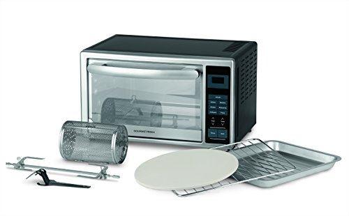 Gourmetmaxx 00968 Mini four 28l, avec écran numérique et circonférence riche de accessoires