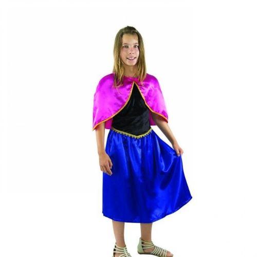Costume Enfant Reine des Glaces - Taille 5-6 ans (S)