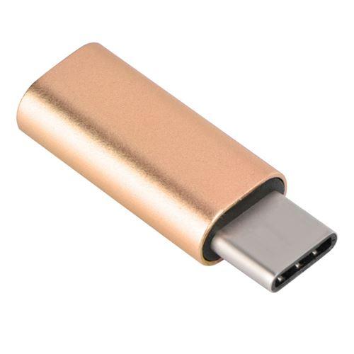 Câble d'adaptateur audio en alliage d'aluminium de type C à 3,5 mm, connecteur pour adaptateur de ca