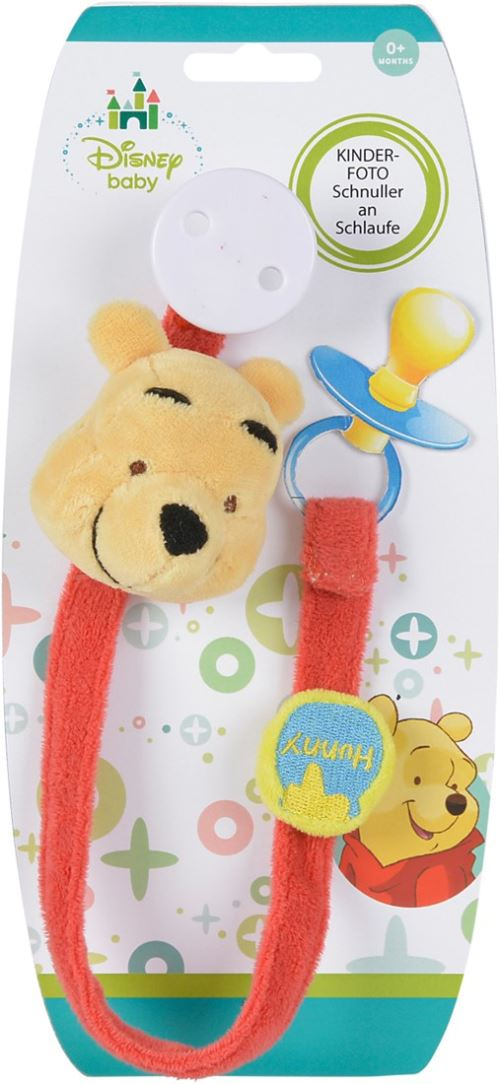 Attache sucette Winnie l'ourson