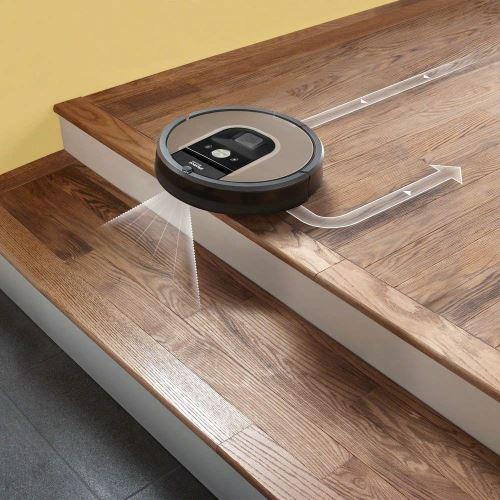 Irobot Roomba 966 Robot Aspirateur Sans Sac 0,6 L Batterie