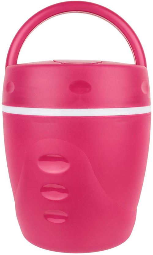Take Away - Lunch box chaud froid avec cuillère 1 litre Rouge
