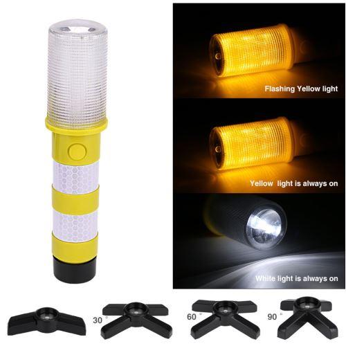 LED Strobe d'avertissement de sécurité clignotant Flicker Road Light lampe de poche pour la sécurité Wa Kiliaadk387