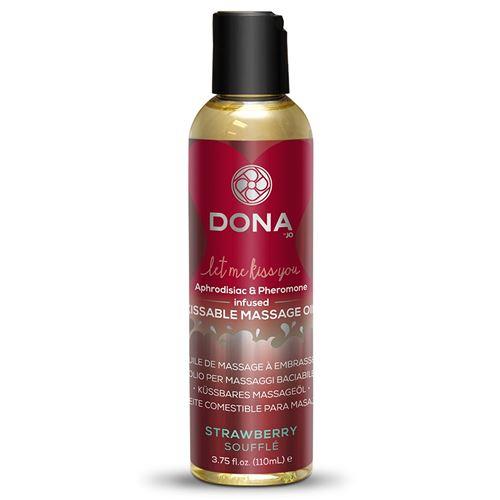 Dona Désirables de l'Huile de Massage Fraise Soufflé 125 ml