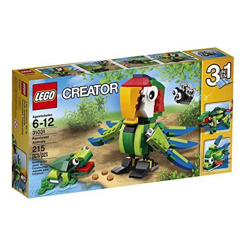 LEGO Creator Rainforest Animals