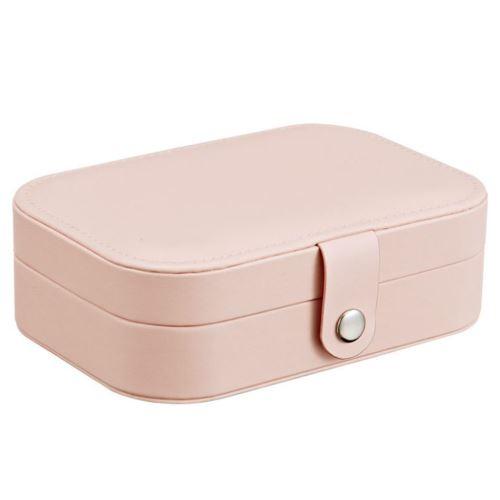 Boucle D'Oreille Affichage Bijoux Bague Boîte de Rangement Organisateur Case Flanelle Plateau Porte-Cadeau Snpl460