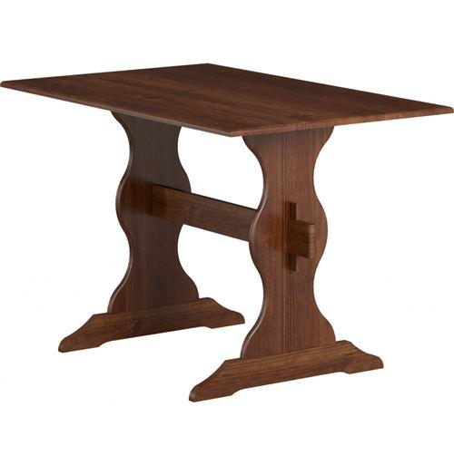Table Aosta - 109 x 75 x 70 cm - Bois - Marron