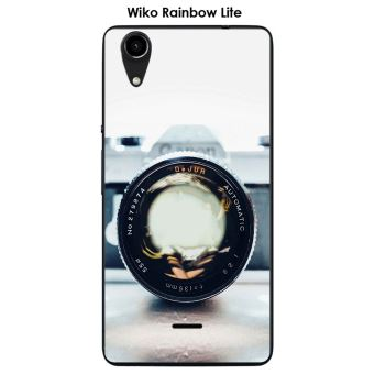 Coque Wiko Rainbow Lite design Appareil photo vintage 2