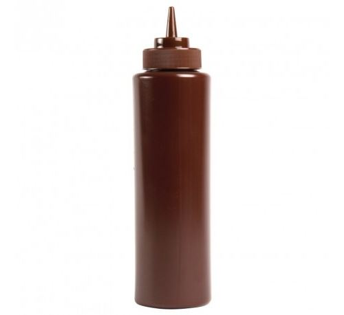 Distributeur de sauce vogue 1l marron