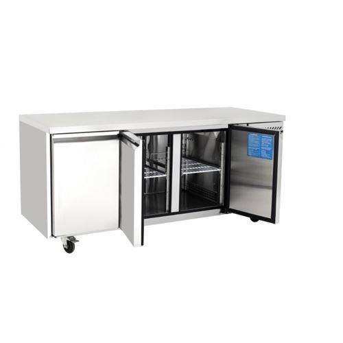 Table réfrigérée positive - 3 portes 280 l