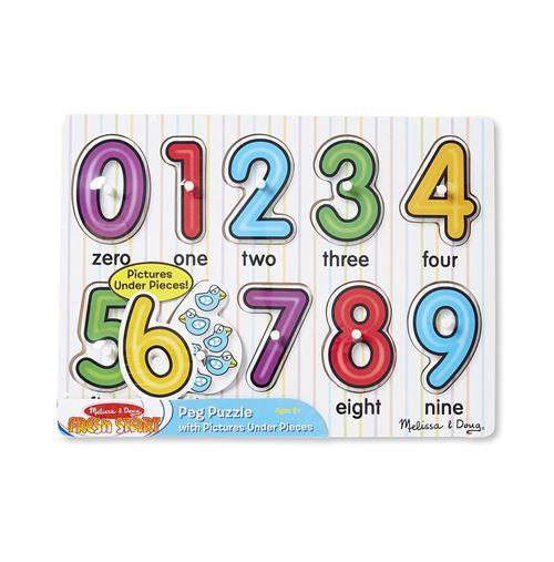 Melissa & Doug Puzzle de qualité anglais 10 pièces