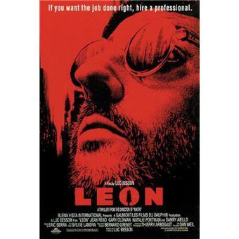 en Anglais 68,5cm x 101,5cm + Un Poster Surprise en Cadeau! Up Close Poster Leon