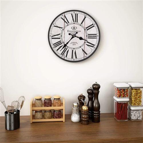 Horloge retro cygne en mer ACRYLIQUE DECO horloge vintage nostalgie