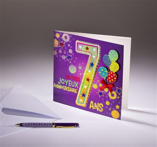 Carte double Coll'Âge- 7 ans