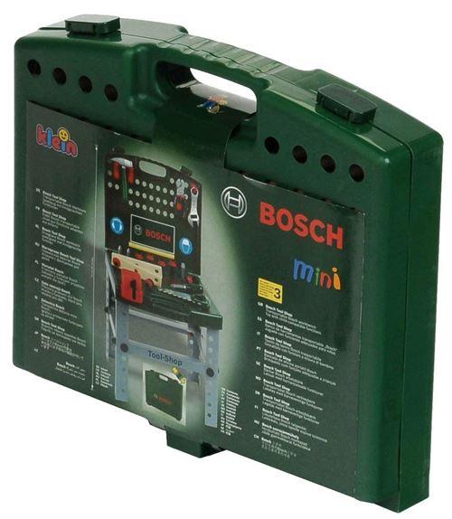 Klein - 8676 - Jeu d'imitation - Etabli pliable Bosch avec visseuse Ixolino II et accessoires