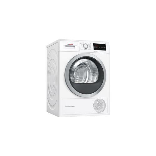 Bosch Serie | 6 WTW85460FF - Sèche-linge - indépendant - largeur : 59.8 cm - profondeur : 59.9 cm - hauteur : 84.2 cm - chargement frontal - blanc