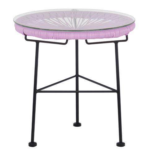 Table Acapulco Violet Lavande